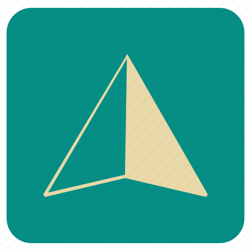 Arrow, basic, map, up icon - Download on Iconfinder