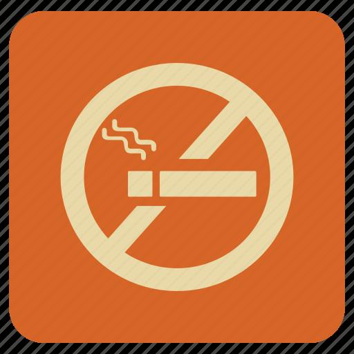 Basic, map, no, smoking icon - Download on Iconfinder