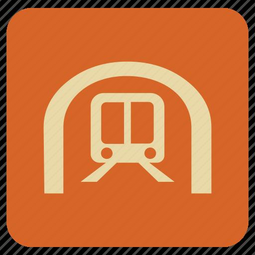basic, map, train icon