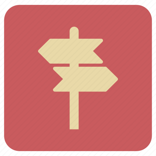 Basic, board, direction, map, rounded icon - Download on Iconfinder