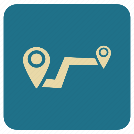 basic, location, map, navigation, point icon