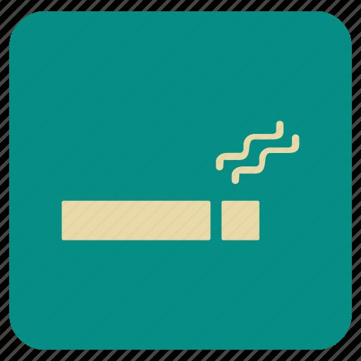 basic, map, smoking icon