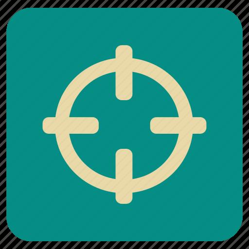 basic, map, target icon