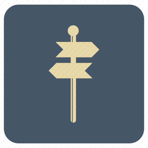 direction, map, navigation icon