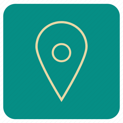 map, navigation, pointer icon