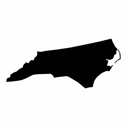 american, location, map, navigation, north carolina, state, united states icon