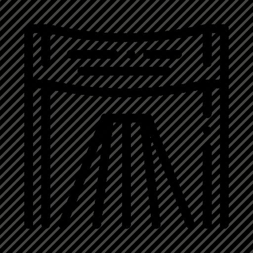 athlete, chair, marathon, personal icon