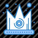 best, crown, gras, king icon