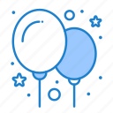 balloon, balloons, party icon