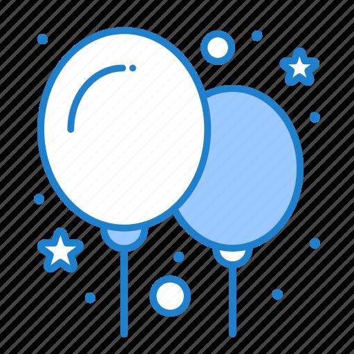 balloon, balloons, party icon