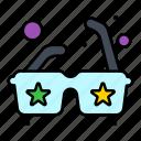 glasses, sun, sunglasses icon
