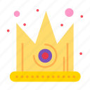 best, crown, gras, king icon