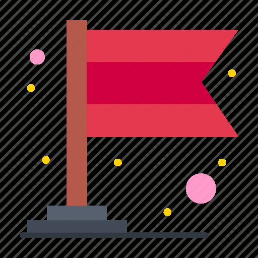 banner, carnival, flag icon
