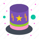 carnival, costume, hat icon