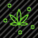 compound, ingredient, marijuana, psychoactive, substance icon