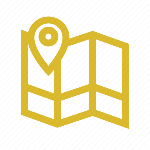 location, map, marine, navigation icon