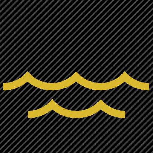 marine, sea, waves icon