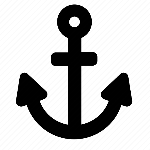 anchor, marine, nautical, sea icon