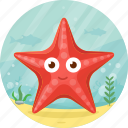 animal, ocean, pet, sea, starfish icon