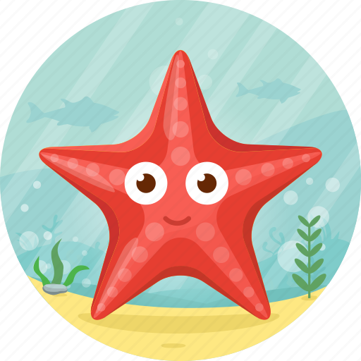 animal, ocean, pet, sea, starfish icon