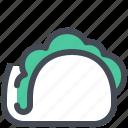 fast, food, junk, sandwich, taco, tacos icon