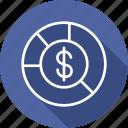 and, budget, diagram, economics, market icon