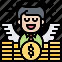 financial, money, wealthy, heavenly, spirit