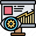 marketing, report, result, presentation, provision