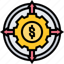 cashflow, trading, distribution, investment, managing
