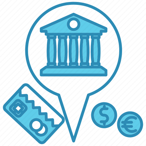 bank, card, currency, market & economics, mastercard icon