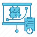 graph, market & economics, plan, report, strategy icon