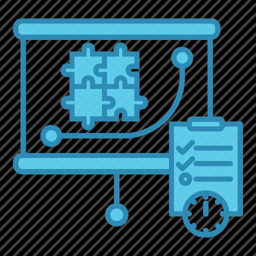 graph, market & economics, plan, report, strategy icon