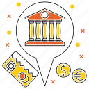 bank, card, currency, market & economics, mastercard, money, pointer icon