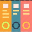 flyers, documents, deposit, stock icon