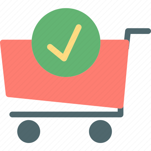 buy, cart, okcheck, purchase icon