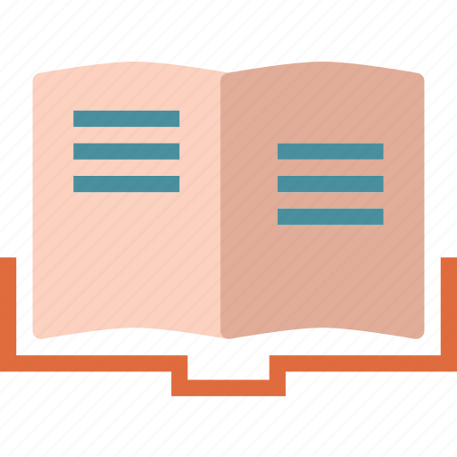 book, notes, read icon