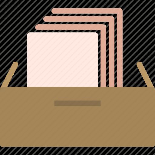 file, folder, secretaryscabinetdrawer icon