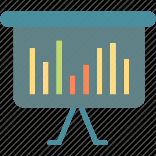 board, chart, compare, graph, report icon