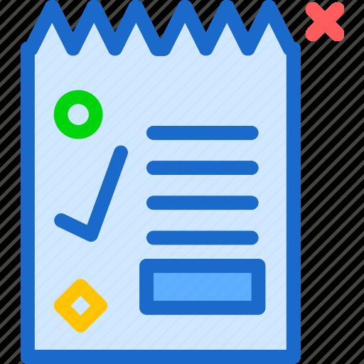 accountant, document, file, letter, paper, printer, report icon