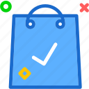 bag, buy, cart, checkok, purchase, shopping icon