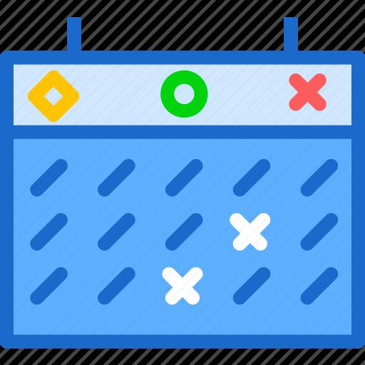 day, markedcalendar, program, schedule, year icon