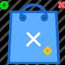 bag, buy, cancel, cart, purchase, shopping