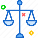 balance, old, scale, weight icon
