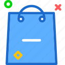 bag, buy, cart, minus, purchase, shopping icon