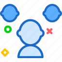 people, team, users icon