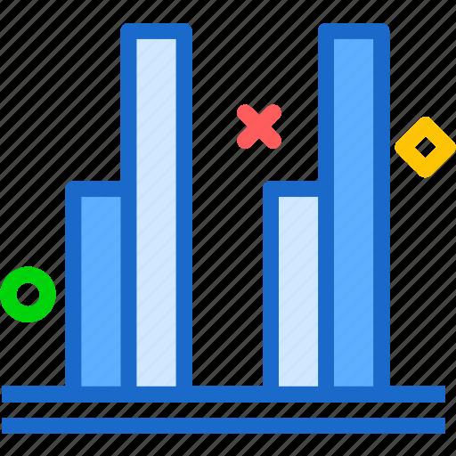 chart, report, stats, stick icon