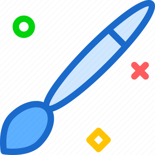 art, brush, color, draw, paint icon