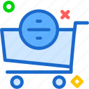 buy, cart, division, purchase icon