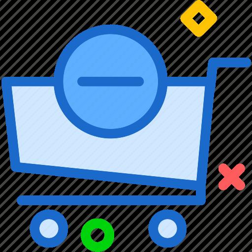 buy, cart, minus, purchase icon
