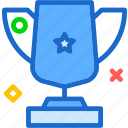 cup, medal, premium, prize icon